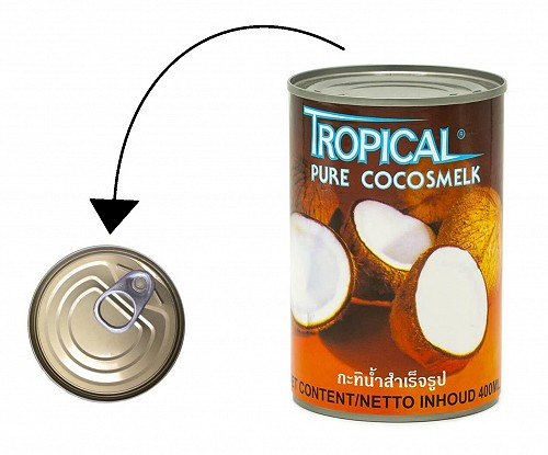 Tropical Coconut milk 400ml