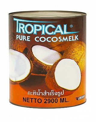 Kokosmelk 100% blik 2900ml